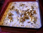 Cherry-Apple Almond Oatmeal Bake