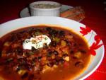 Black Bean Chorizo Chili