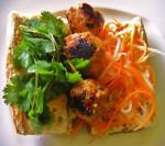 Vietnamese Meatball Bahn Mi and Mai Tai