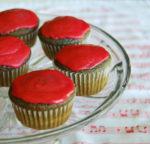 Raspberry Cupcakes with Raspberry Icing