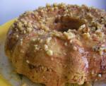 Cinnamon Donut Cake with Walnuts