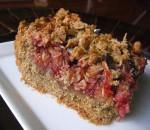 Deep Dish Chocolate-Raspberry Oat Bars