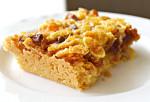 Crunchy and Fruity Shortbread Bars {Gluten-free & Vegan}