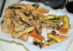 Portabella Mushroom and Zucchini Tempura / Kelapo Oil Giveaway Winner