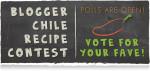 Blogger Chile Recipe Contest–Vote for my recipe!