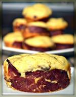 Secret Recipe Club: Portabella and Turkey Corn Cakes