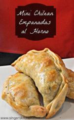 Recipe Flashback: Mini Chilean Empanadas al Horno {Oven-Baked Turnovers}