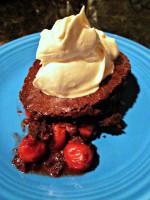 Secret Recipe Club: Quick Black Forest Brownies