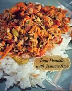 Tuna Picadillo with Jasmine Rice