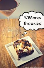 S'mores Brownies {Secret Recipe Club}