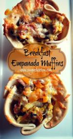 Breakfast Empanada Muffins + Auténtico Cheese Society