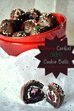 Cherry Cordial OREO Cookie Balls