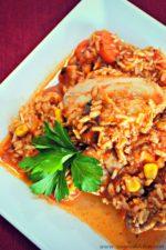 Tra-Dish with Ragú® : Healthy One Pot Chicken Cacciatore