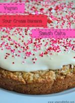 Vegan Sour Cream Banana Smash Cake