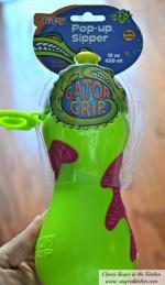 Nûby™ Gator Grip™ Pop-up™ Sipper {Review}