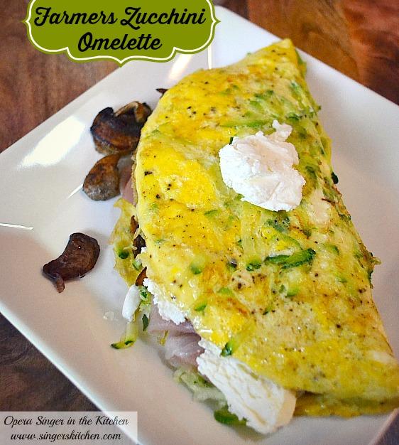 Farmers Zucchini Omelette #THM