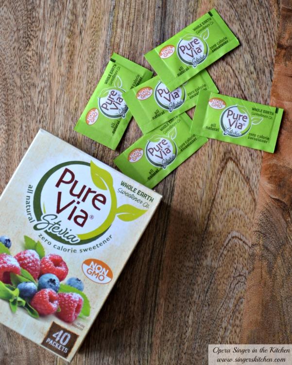 Pure Via Stevia Sweetener #pmedia #PureViaSweet