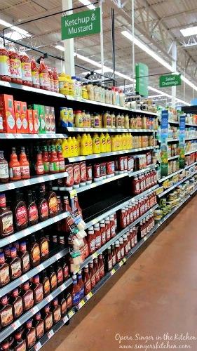 Walmart condiment aisle