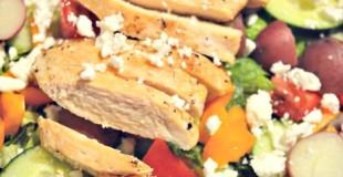 Dinner Salad with Harvestland Chicken