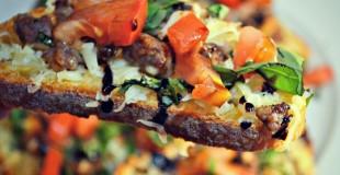 Sausage Bruschetta Nachos 2