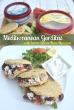 Mediterranean Gorditas for National Hummus Day