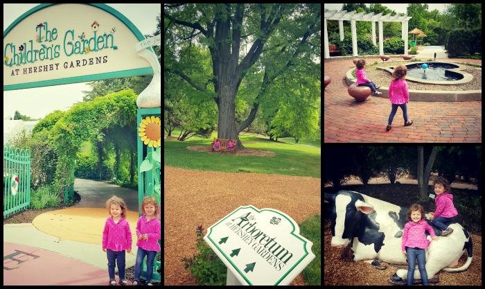Hershey Gardens collage