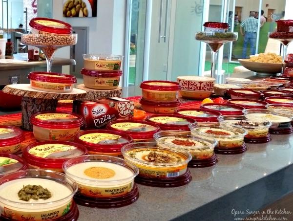 Hummus line