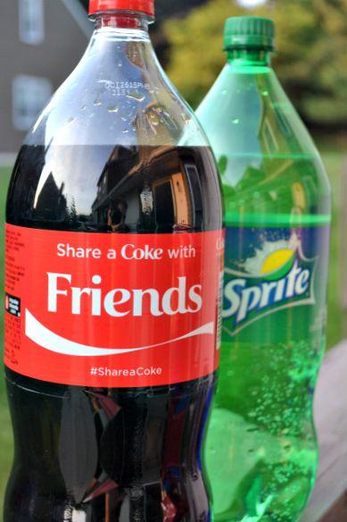 Coke and Sprite