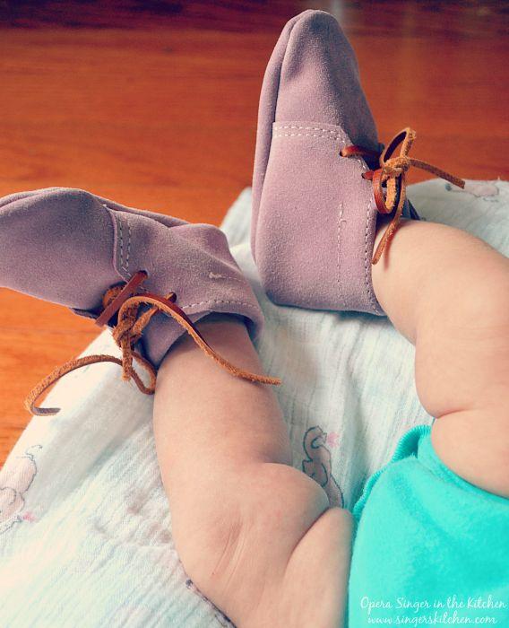 Mason Dixon baby booties
