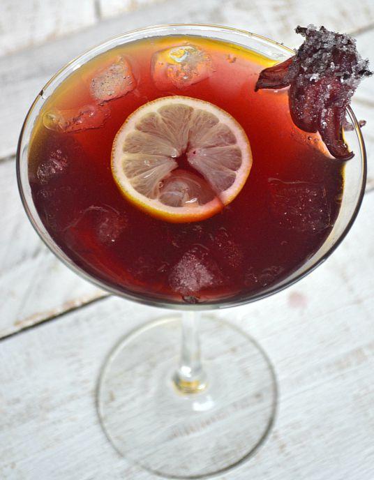 Spiked Pom Hibiscus Lemonade 1