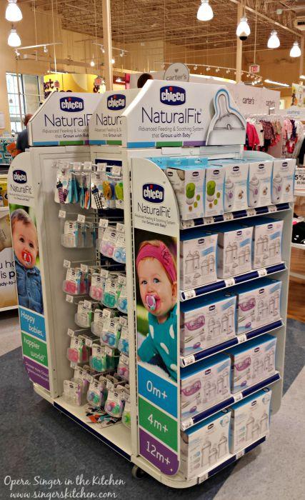Chicco NaturalFit bottles at Babies R Us