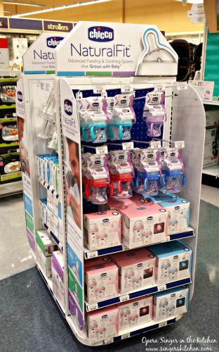 Chicco NaturalFit bottles