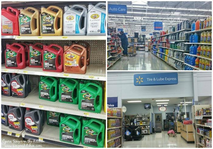 Quaker Oil Change at Walmart