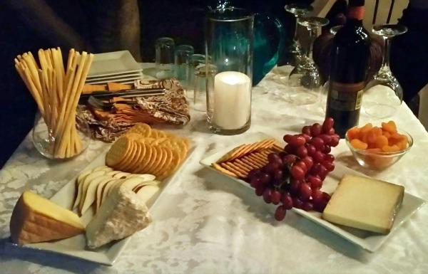 Wine and Cheese Night 1