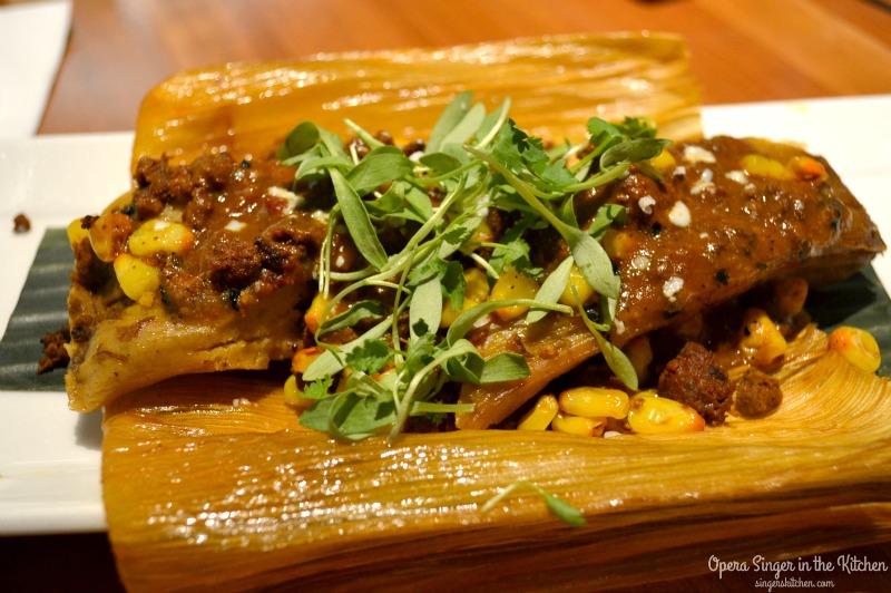 Tamales at Cantina Laredo