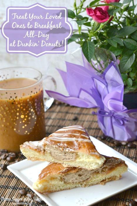 Brerakfast All-day at Dunkin' Donuts