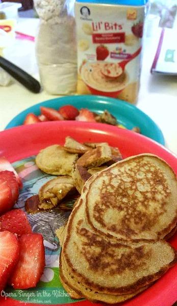 Lil' Bits Gluten-Free Pancakes