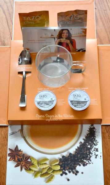 Tazo Chai Latte gift box