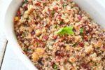 Nectarine and Cherry Tabbouleh Salad
