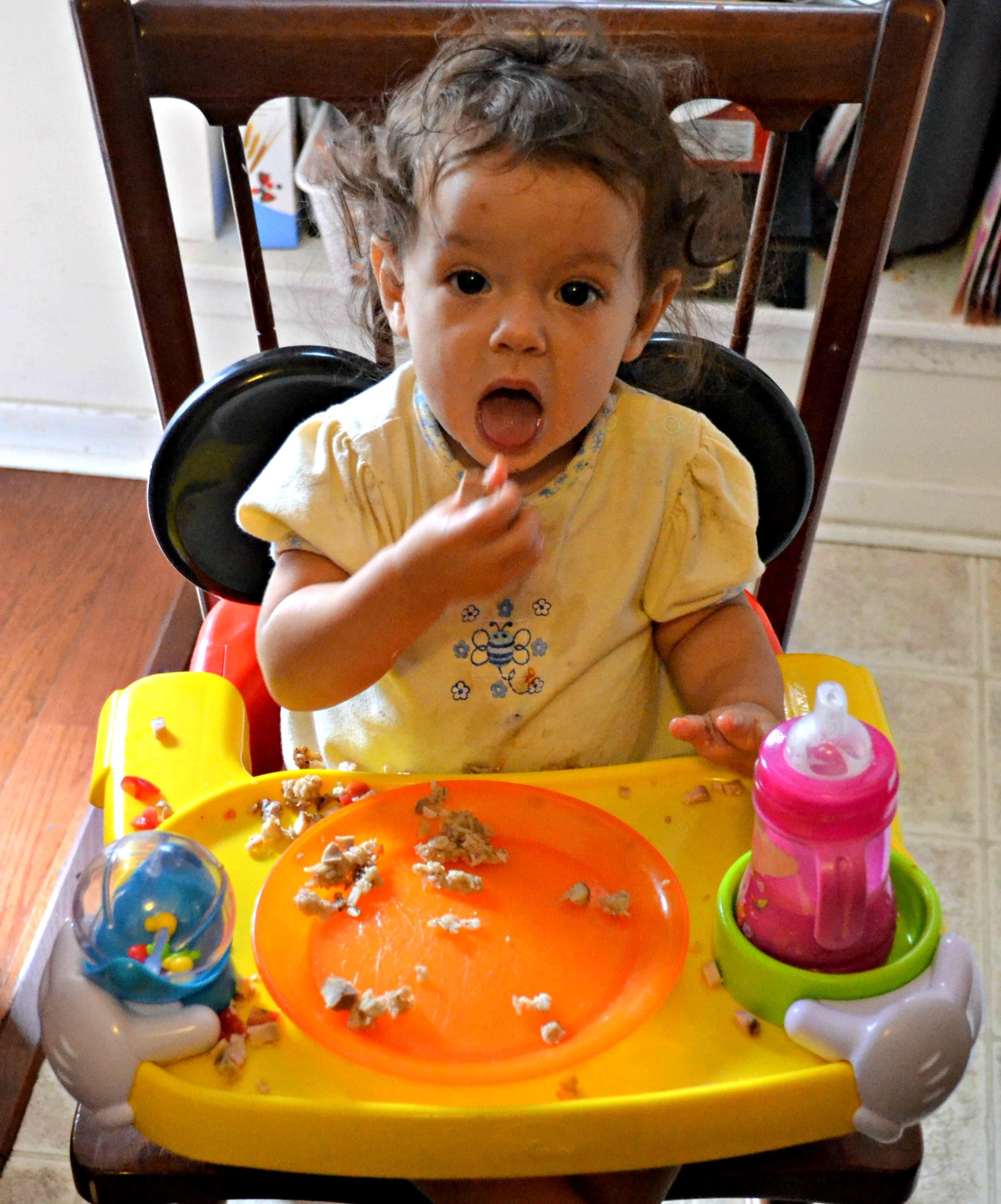 Dining baby