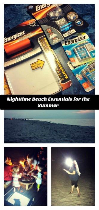 Nighttime Beach Essentials for the Summer - Energizer