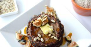 Vegan Quinoa Banana Pancakes + Mockmill for Grains and Seeds
