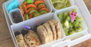 Mini Taco Turkey Sliders for Healthy Kids Bento Box