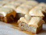 Spiced Pumpkin Bars with Pumpkin Frosting {Gluten-Free, Sugar-Free}