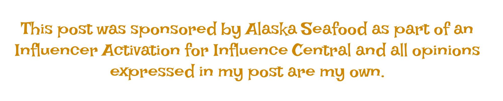 Alaska Seafood Disclaimer