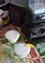 Sugar Free Pisco Sour – Vitamix Aer Disc