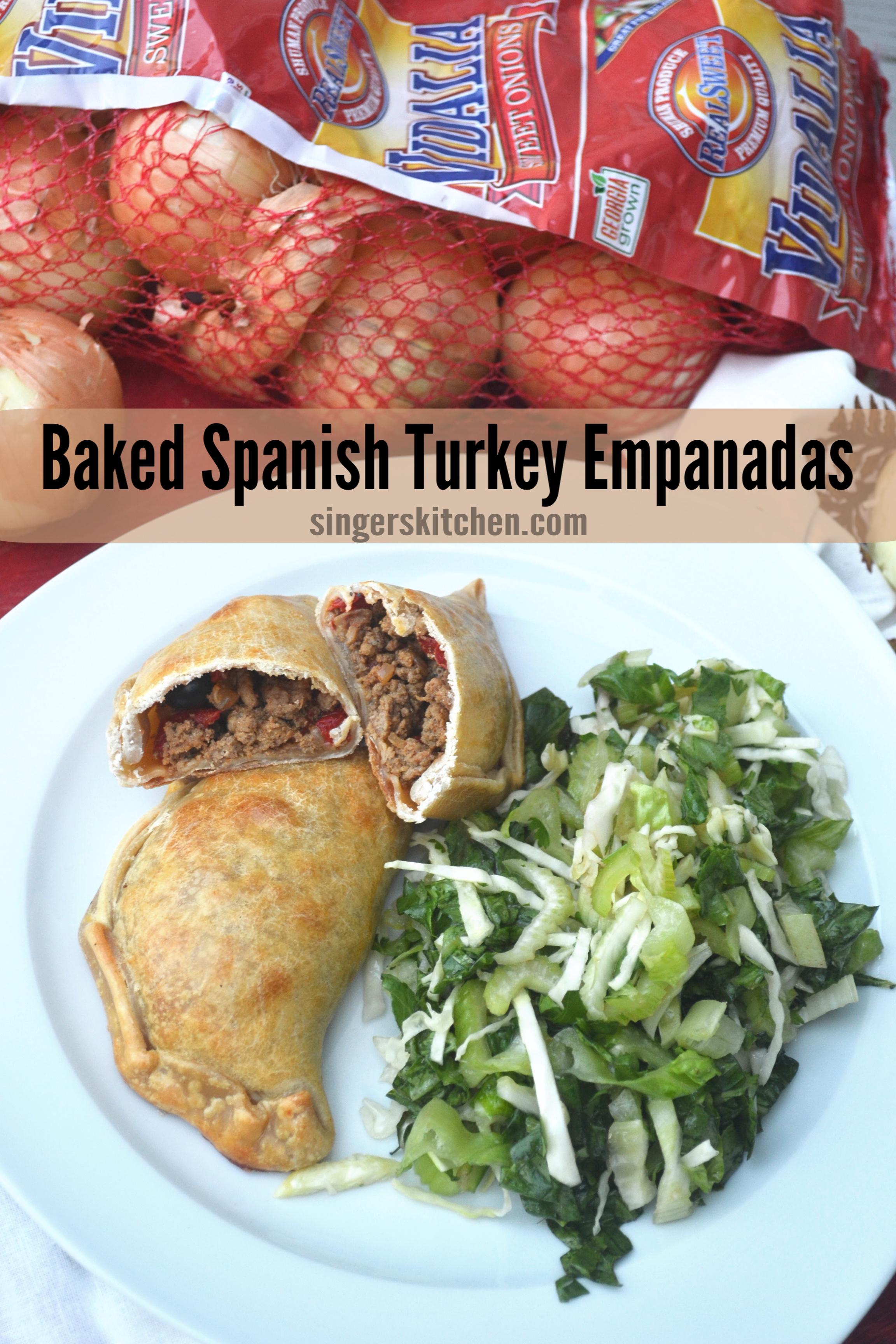 Baked Spanish Turkey Empanadas - hero