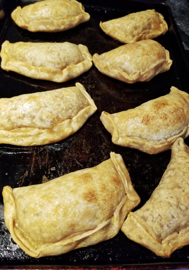 Baked Spanish Turkey Empanadas - oven